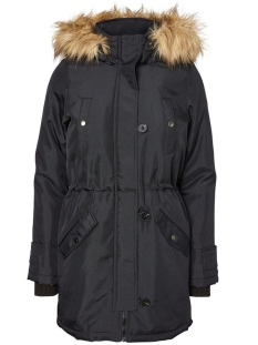 Vero Moda Jas VMEXCURSION EXPEDITION 3/4 PARKA NO 10179248 Black Beauty