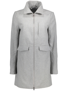 Noisy may Jas NMMINNA L/S COAT - 4B 10179084 Light Grey Melange