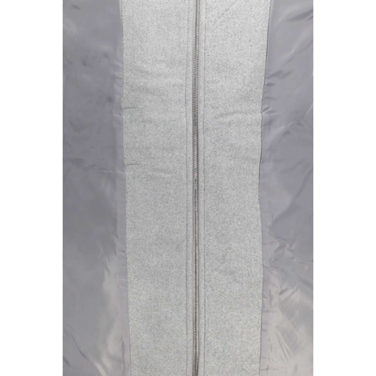 nmminna l/s coat - 4b 10179084 noisy may jas light grey melange