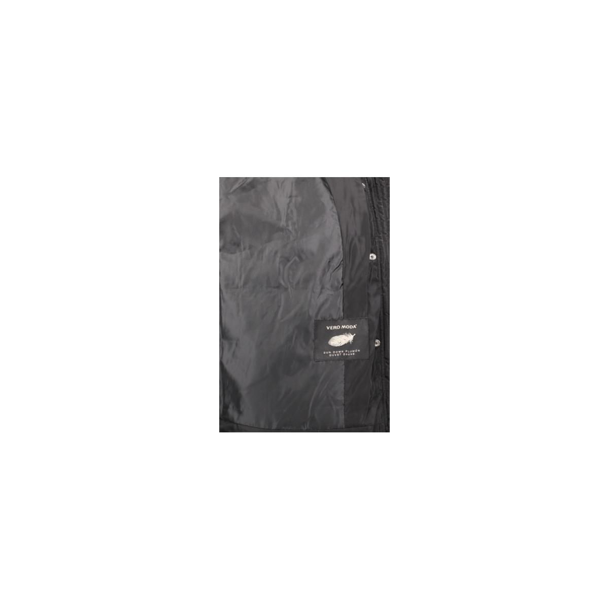vmfea short down jacket 10182246 vero moda jas black beauty
