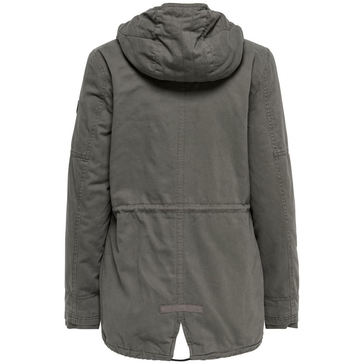 onlleeona aw canvas parka jacket cc 15136026 only jas black olive