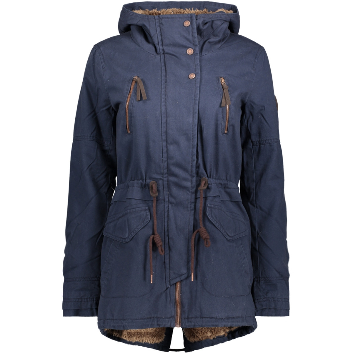 onlleeona aw canvas parka jacket cc 15136026 only jas sky captain