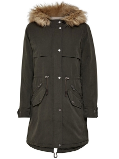 Only Jas onlSTARLIGHT AW LONG FUR PARKA CC O 15136077 Peat