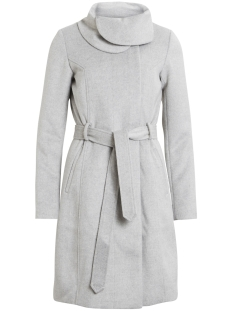 Vila Jas VIDAHLIA WOOL COAT-NOOS 14041963 Light Grey Melange