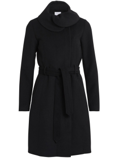 Vila Jas VIDAHLIA WOOL COAT-NOOS 14041963 Black
