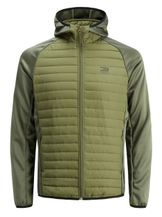 Jack & Jones Jas JCOMULTI QUILTED JACKET NOOS 12110590 Olive Night