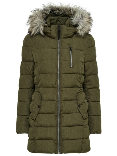 Only Jas onlDANA NYLON COAT OTW 15138208 Beech/Melange