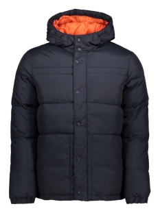 Jack & Jones Jas JCOROGER JACKET 12123927 Navy Blazer/ One - Orange