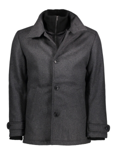 Jack & Jones Jas JCOJOE WOOL JACKET. 12124292 Grey Melange