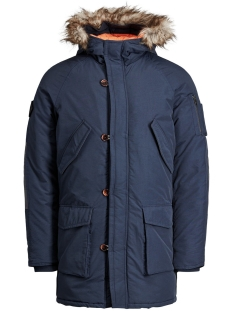 Jack & Jones Jas JORFOREST PARKA JACKET 12123692 Total Eclipse