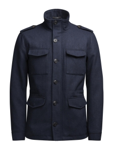 Jack & Jones Jas JPRCODE WOOL JACKET 12125791 Dark Navy