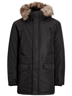 Jack & Jones Jas JCOLAND PARKA JACKET CAMP 12124254 Black