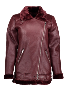 Only Jas onlDIA BONDED FAUX LEATHER BIKER OT 15137643 Port Royale