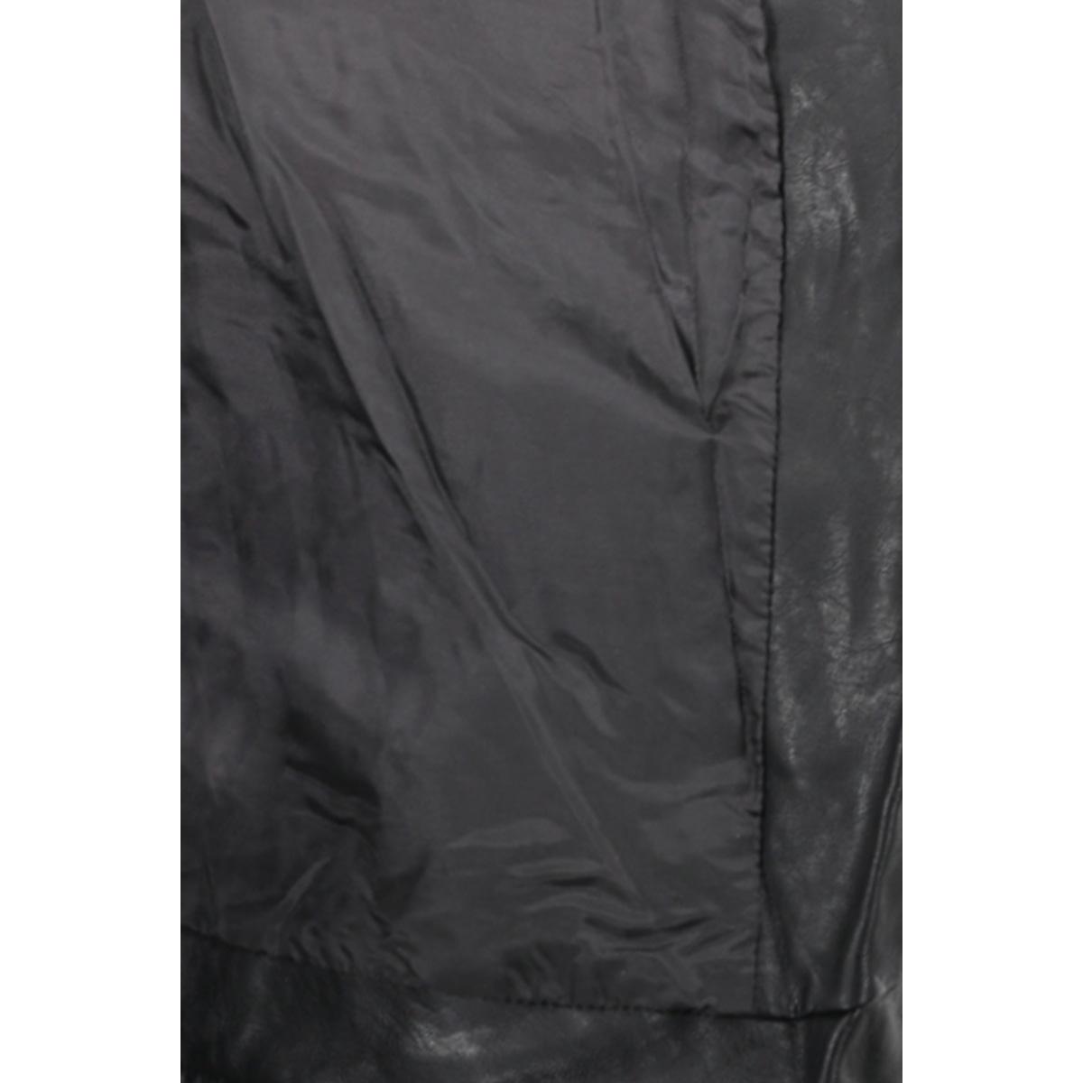 vmkamma short pu jacket boos 10179242 vero moda jas black beauty