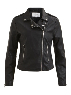 Vila Jas VICARA FAUX  LEATHER JACKET-NOOS 14044851 Black