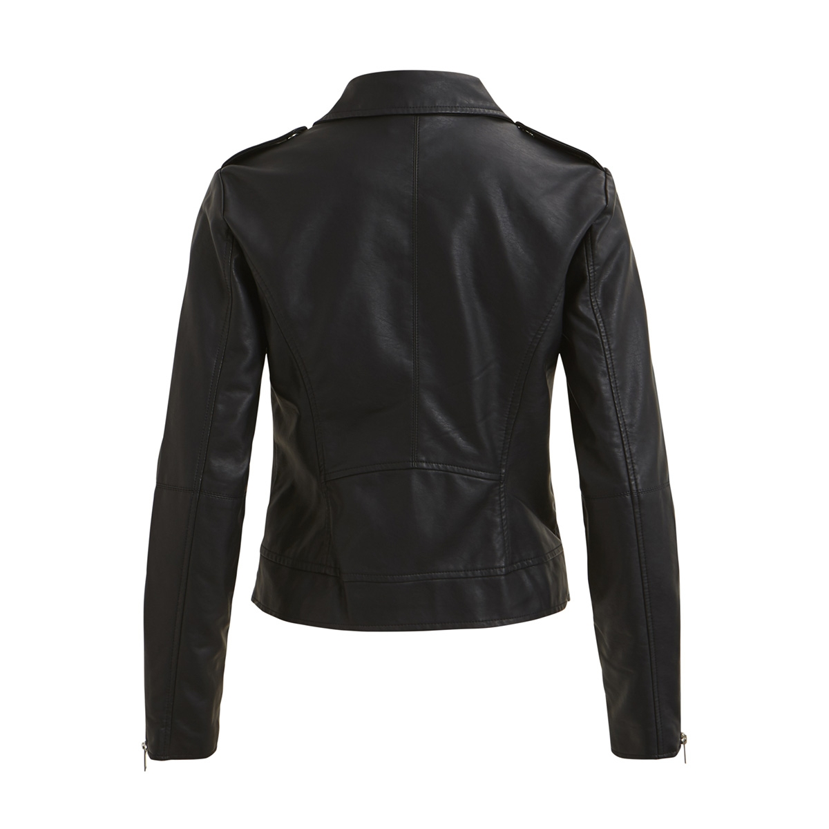 vicara faux  leather jacket-noos 14044851 vila jas black