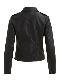 vicara faux  leather jacket-noos 14044851 vila jas black