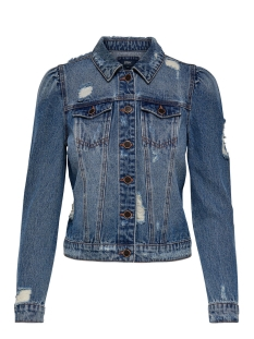 Only Jas onlCHRIS LS PUFF DNM JACKET BJ10999 15148391 Medium Blue Denim