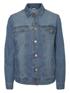 Noisy may Jas NMOLE L/S MED BLUE DENIM JACKET NOO 27001426 Medium Blue Denim