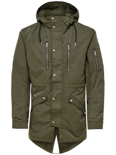 Only & Sons Jas onsKLAUS PARKA NOOS 22008647 Olive Night