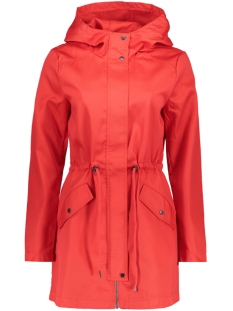 Jacqueline de Yong Jas JDYANETTE CANVAS JACKET OTW 15149793 High Risk Red