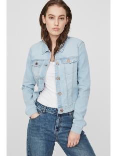 nmdebra l/s lb denim jacket noos 27001914 noisy may jas light blue denim
