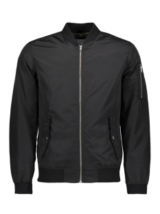 Jack & Jones Jas JCOGRAND BOMBER  JACKET - CAMP 12131740 Black