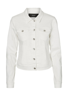 Vero Moda Jas VMHOT SOYA LS DENIM JACKET MIX 10193085 Bright White