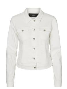 Vero Moda Jas VMHOT SOYA LS DENIM JACKET MIX 10193085 Bright White