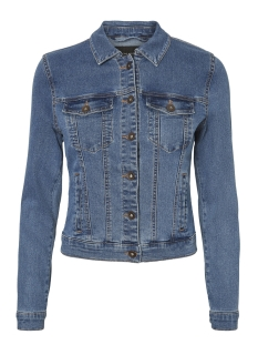vmhot soya ls denim jacket mix 10193085 vero moda jas medium blue denim