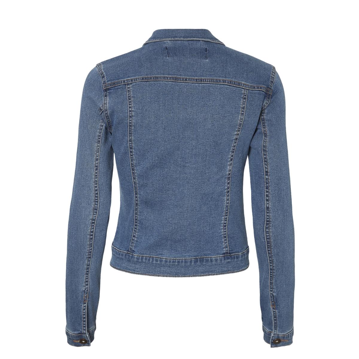 vmhot soya ls denim jacket mix 10193085 vero moda jas medium blue denim