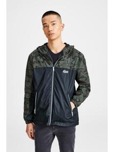 jorself light jacket 12131623 jack & jones jas forest night