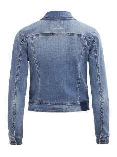 objwin new her l/s  denim jacket no 23026129 object jas medium blue denim