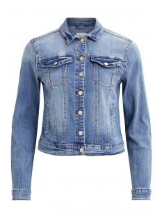 vishow denim jacket - noos 14042859 vila jas medium blue denim
