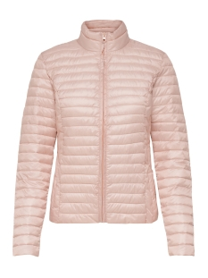 Jacqueline de Yong Jas JDYMADDY PLAIN NYLON JACKET OTW 15147283 Rose Smoke