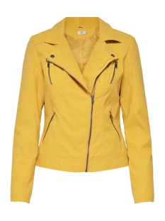 Only Jas onlSTEADY FAUX LEATHER BIKER CC OTW 15144754 Yolk Yellow