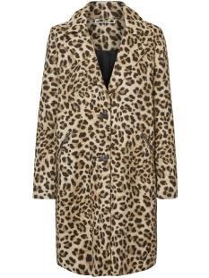 Noisy may Jas NMTECA L/S COAT 3 27002161 Humus/LEOPARD JA
