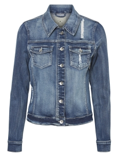 Vero Moda Jas VMMORA LS JACKET 10200058 Light Blue Denim