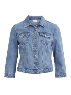 Vila Jas VIJULES 3/4 DENIM JACKET LB 14046836 Light Blue Denim