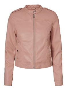 Vero Moda Jas VMALICE SHORT FAUX LEATHER JACKET B 10189458 Old Rose