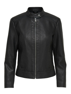 Jacqueline de Yong Jas JDYDALLAS FAUX LEATHER JACKET OTW NOOS 15157396 Black