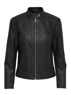jdydallas faux leather jacket otw noos 15157396 jacqueline de yong jas black
