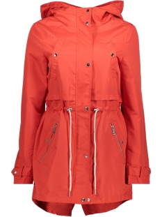 Vero Moda Jas VMKINGSTON CHAMP PARKA 10191614 Poppy Red