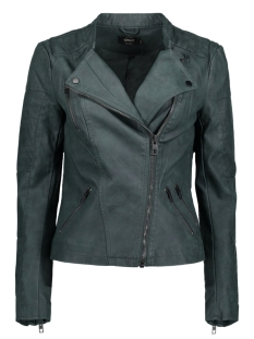 Only Jas onlAVA FAUX LEATHER BIKER OTW NOOS 15102997 Green Gables