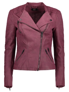 Only Jas onlAVA FAUX LEATHER BIKER OTW NOOS 15102997 Port Royale