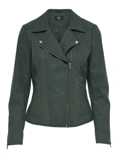 Only Jas onlSAGA FAUX LEATHER BIKER CC OTW 15156493 Green Gables