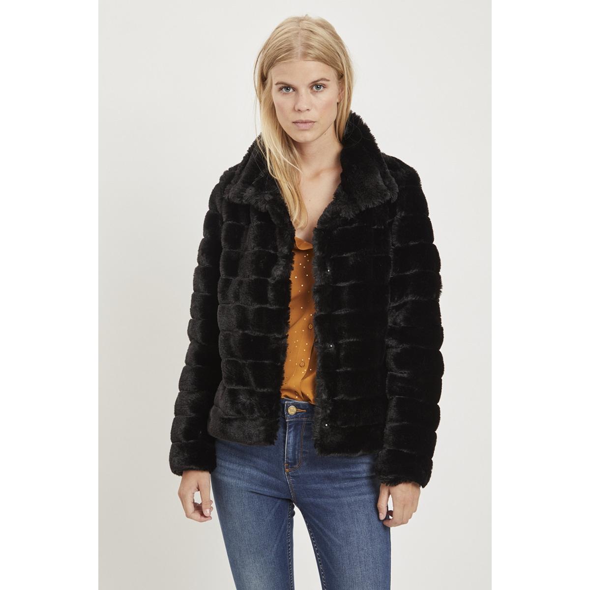 vifarry short jacket-noos 14049848 vila jas black