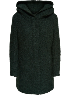 Only Jas onlSEDONA BOUCLE WOOL COAT OTW NOOS 15156578 Green Gables/MELANGE