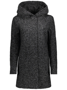 Only Jas onlSEDONA BOUCLE WOOL COAT OTW NOOS 15156578 Black/MELANGE