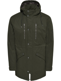 Only & Sons Jas onsKLAUS PARKA WINTER JACKET NOOS 22010255 Forest Night